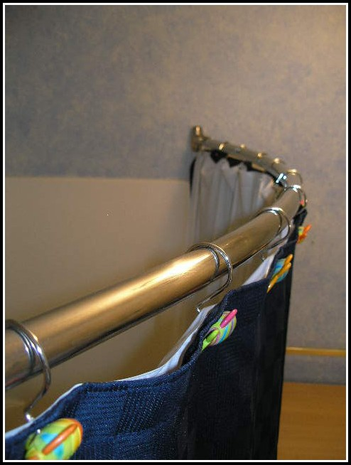 Curved Curtain Rod For Bow Windows