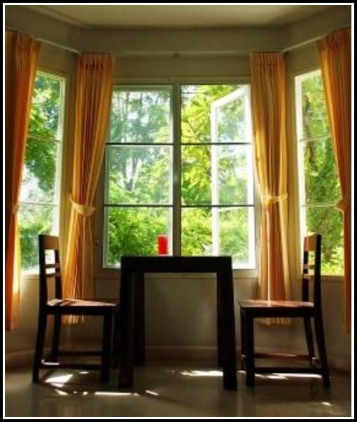 Double Bracket Window Curtain Rod Set