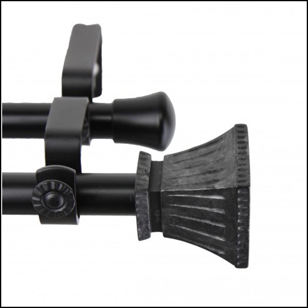 Double Curtain Rod 86 120