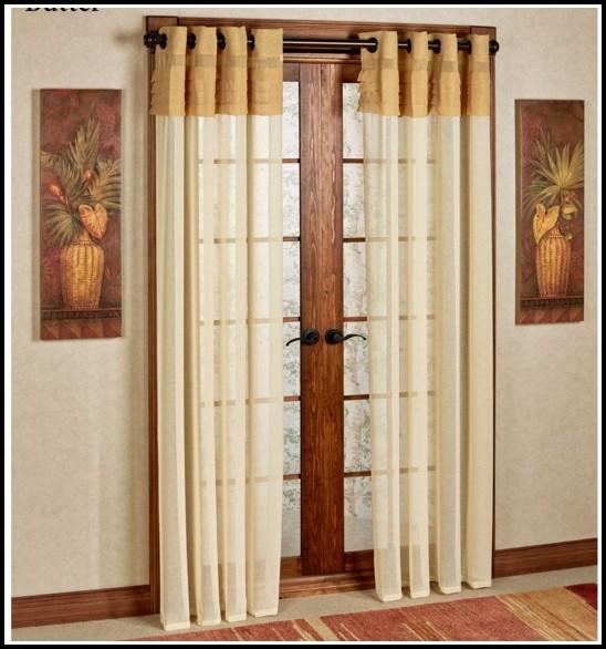 Double Curtain Rod For Grommet Panels