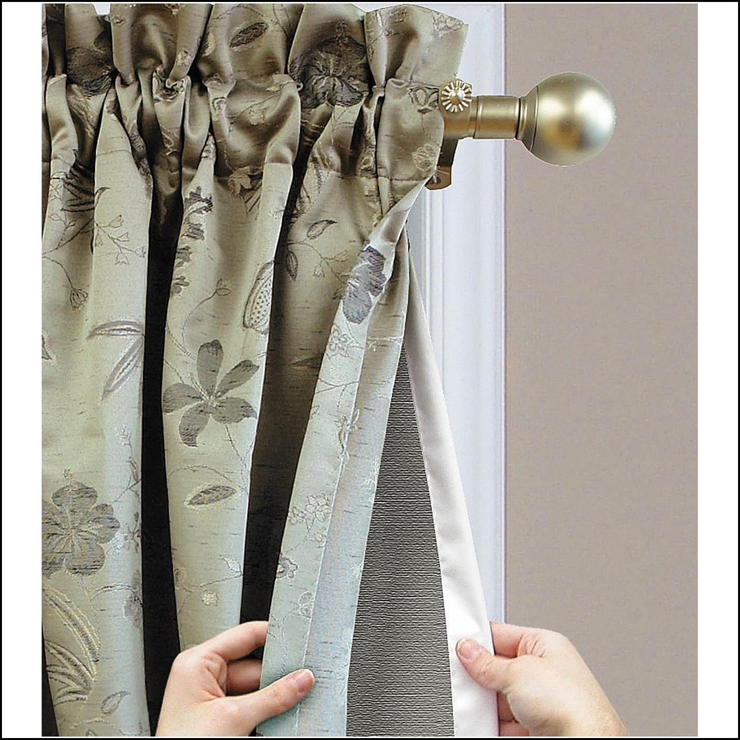 Eclipse Energy Efficient Curtain Liner 2 Pack