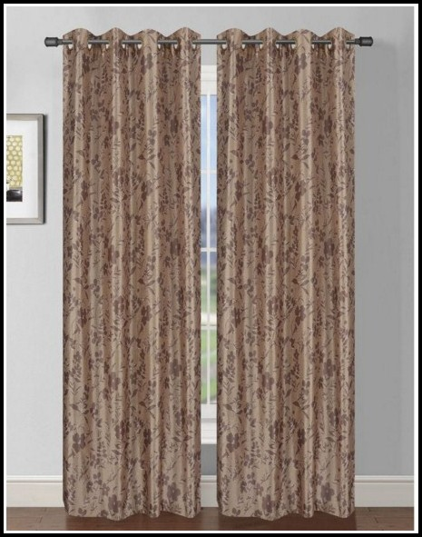 Extra Wide Grommet Top Curtains