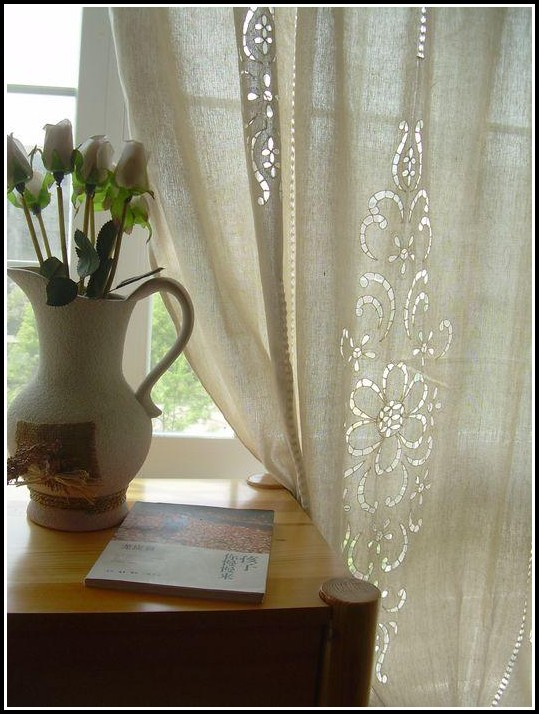 French Country Lace Curtains
