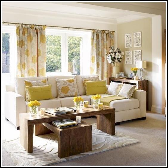 Grey Curtains Living Room Design