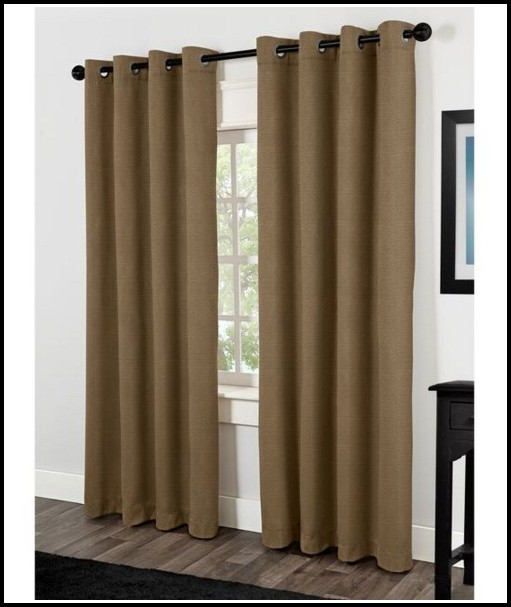 Grommet Top Blackout Curtain Panels