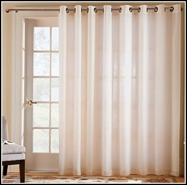 Grommet Top Curtains With Sheers