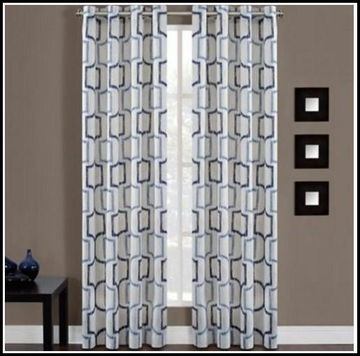 Grommet Top Sheer Curtain Panels