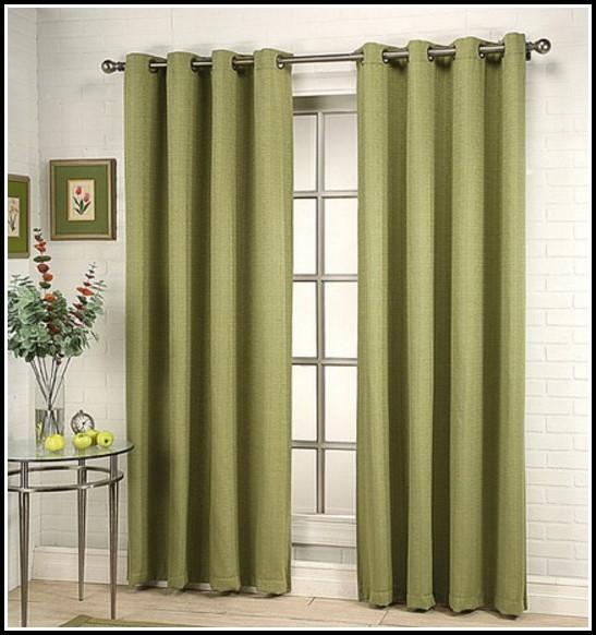 Grommet Top Sliding Door Curtains