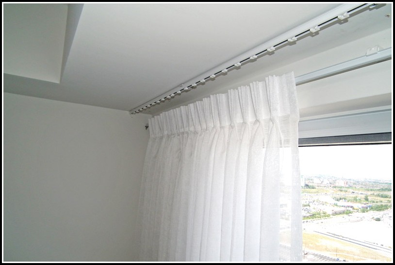 Hang A Curtain Rod Without Nails