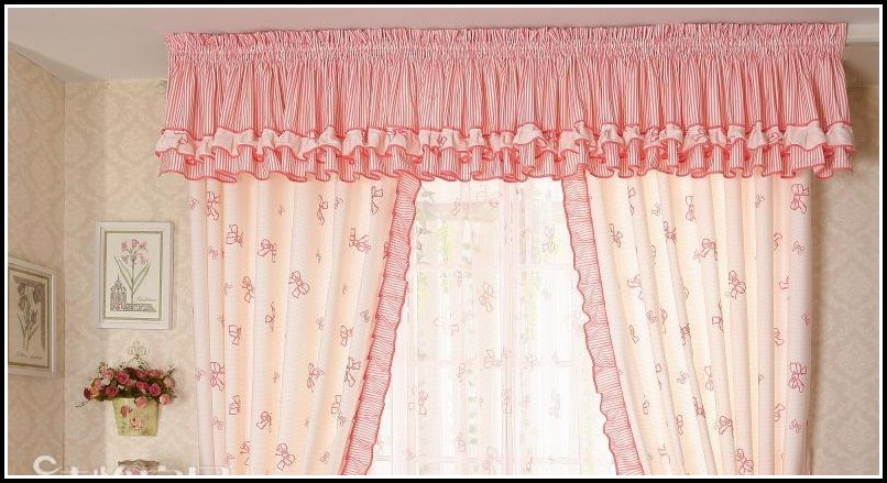 Hot Pink Faux Silk Curtains