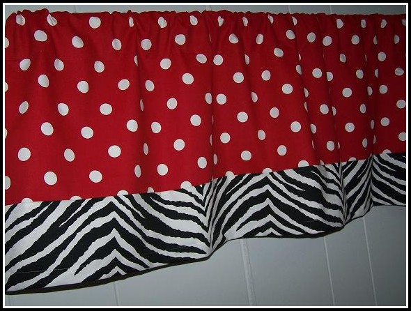 Ikea Red And White Polka Dot Curtains