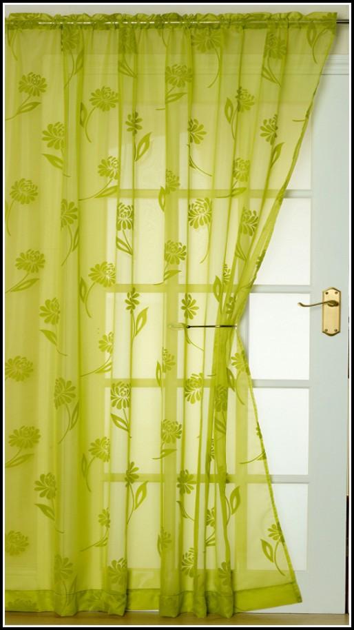 Lime Green Bathroom Window Curtains