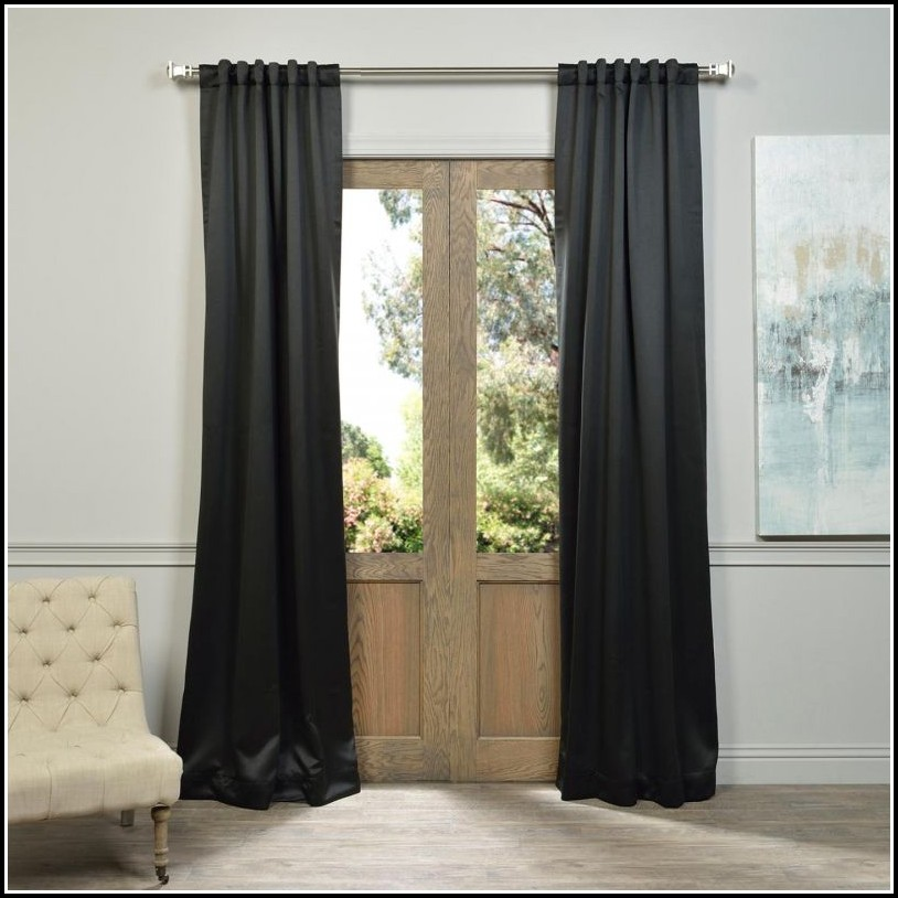 Lined Grommet Top Curtain Panels