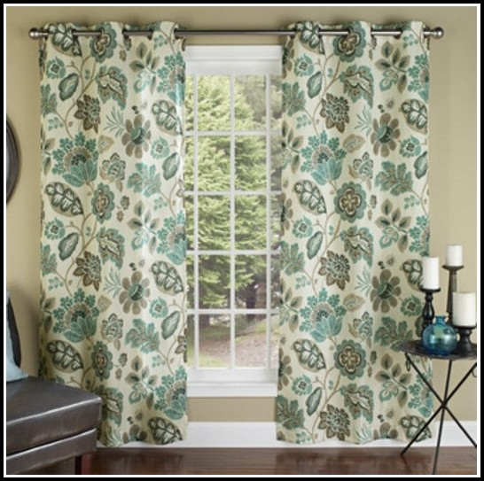 Linen Grommet Curtain Panels