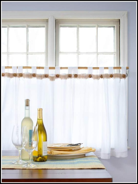Make Tab Top Cafe Curtains