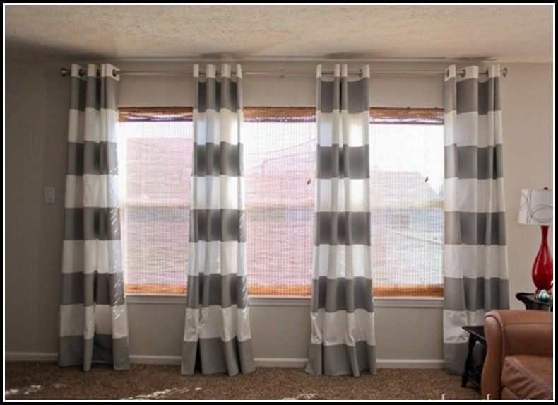 Nursery Curtains Grey And White