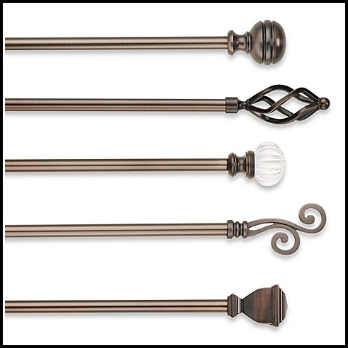 Oil Rubbed Bronze Window Curtain Rods