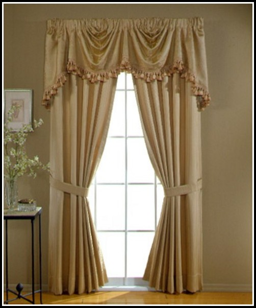 Primitive Curtains For A Picture Window