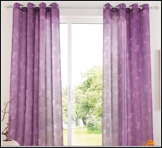 Purple Blackout Curtains For Nursery