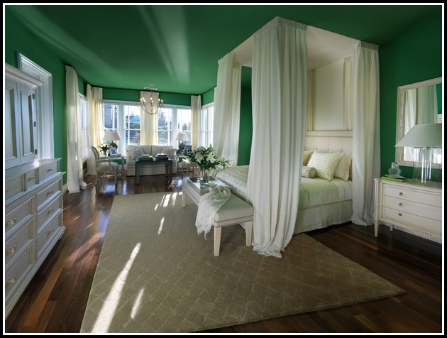 Queen Bed Canopy Curtains