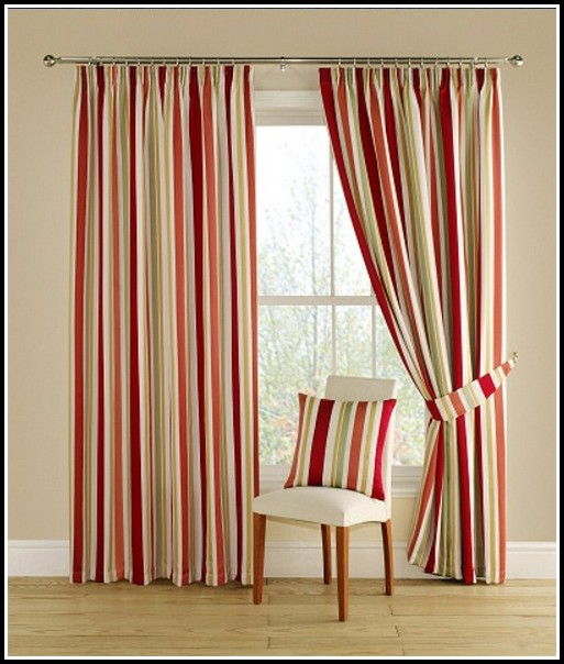 Red Green And Gold Curtains