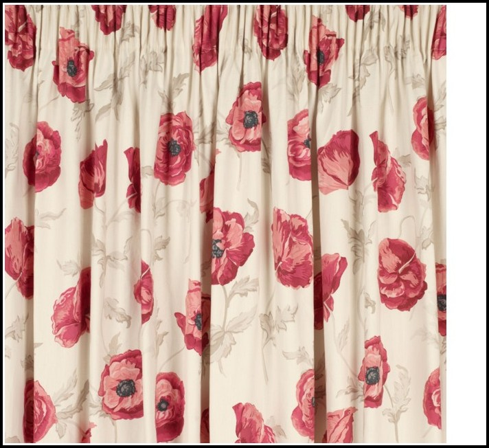 Red Tab Top Curtains Argos