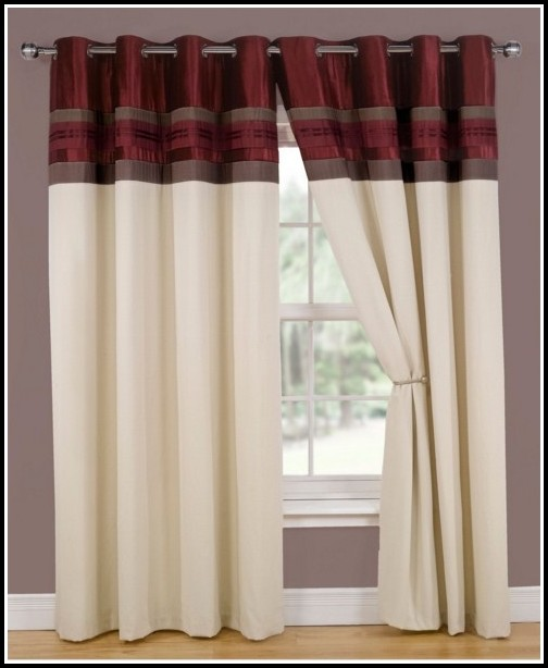 Red Tab Top Curtains Next