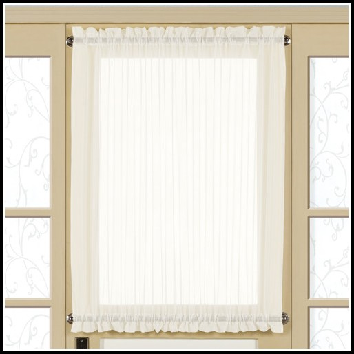 Rod Pocket Door Panel Curtains