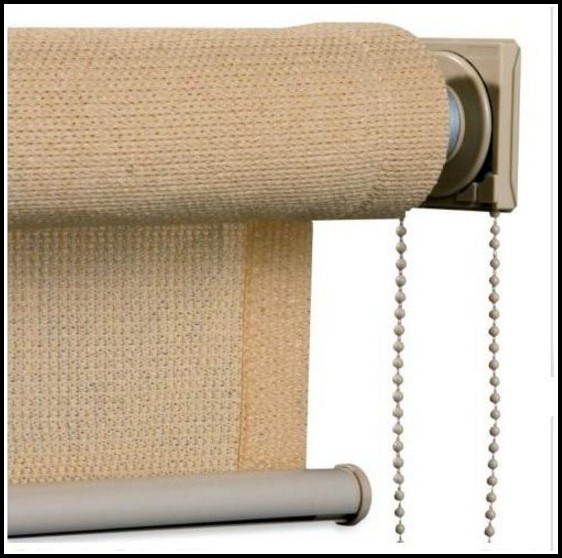 Roll Up Outdoor Curtains