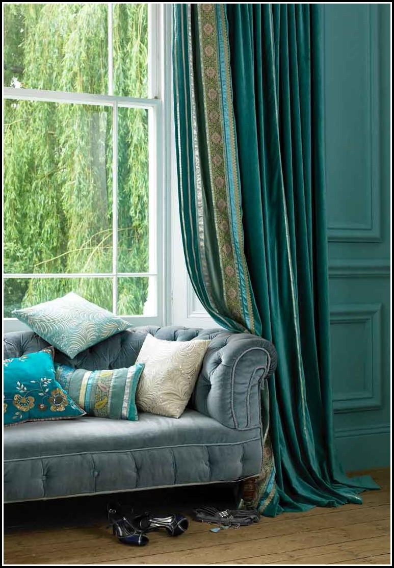 Sage Green And Burnt Orange Curtains