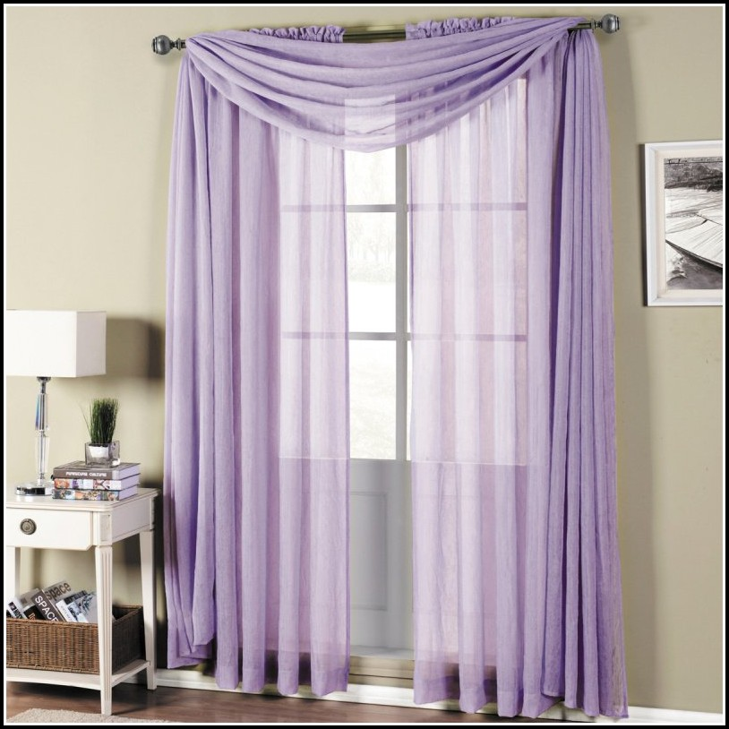 Sheer Curtains Rod Pocket Top Bottom