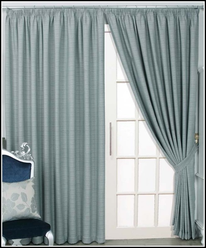 Sliding Door Thermal Curtains