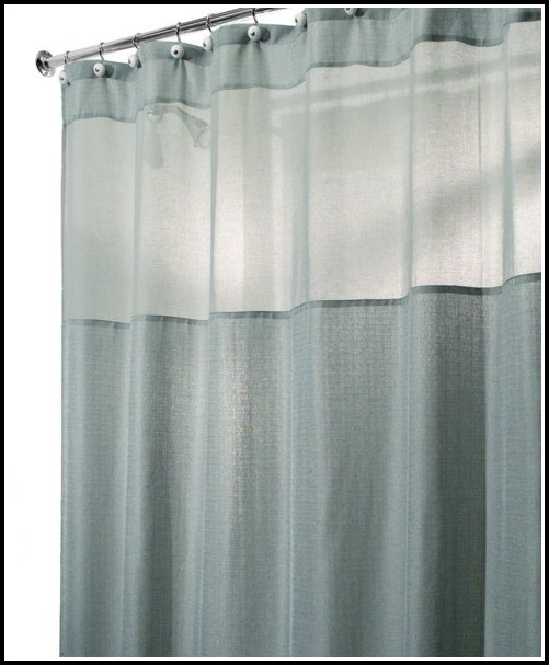 Standard Length Of Shower Curtains