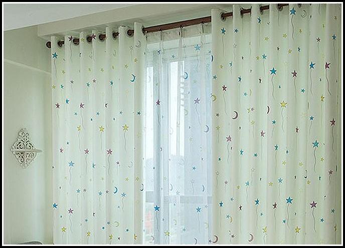 Sun And Moon Net Curtains