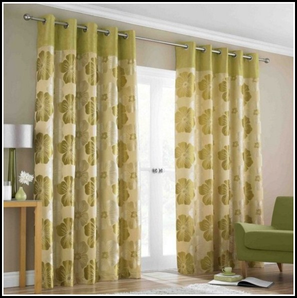Vertical Blinds Behind Curtains