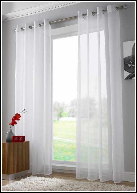 White Tie Top Curtains Uk