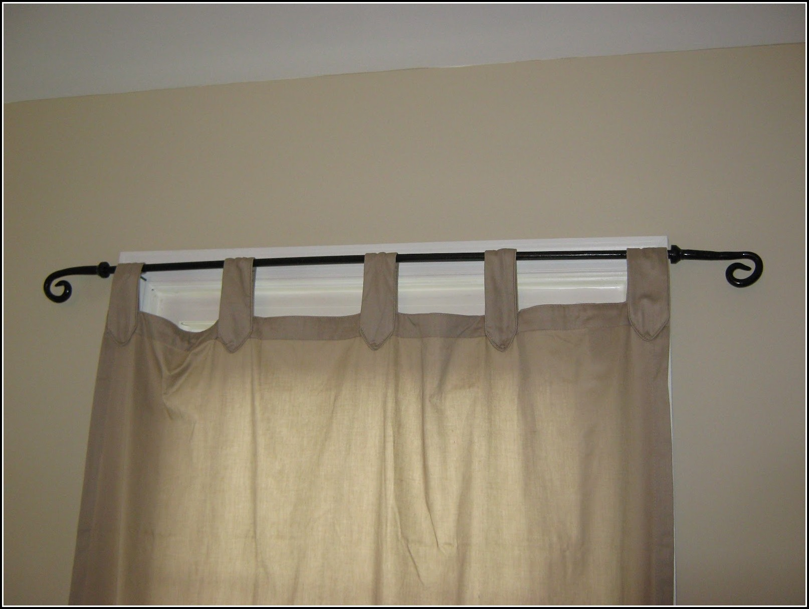 12 Foot Double Curtain Rods