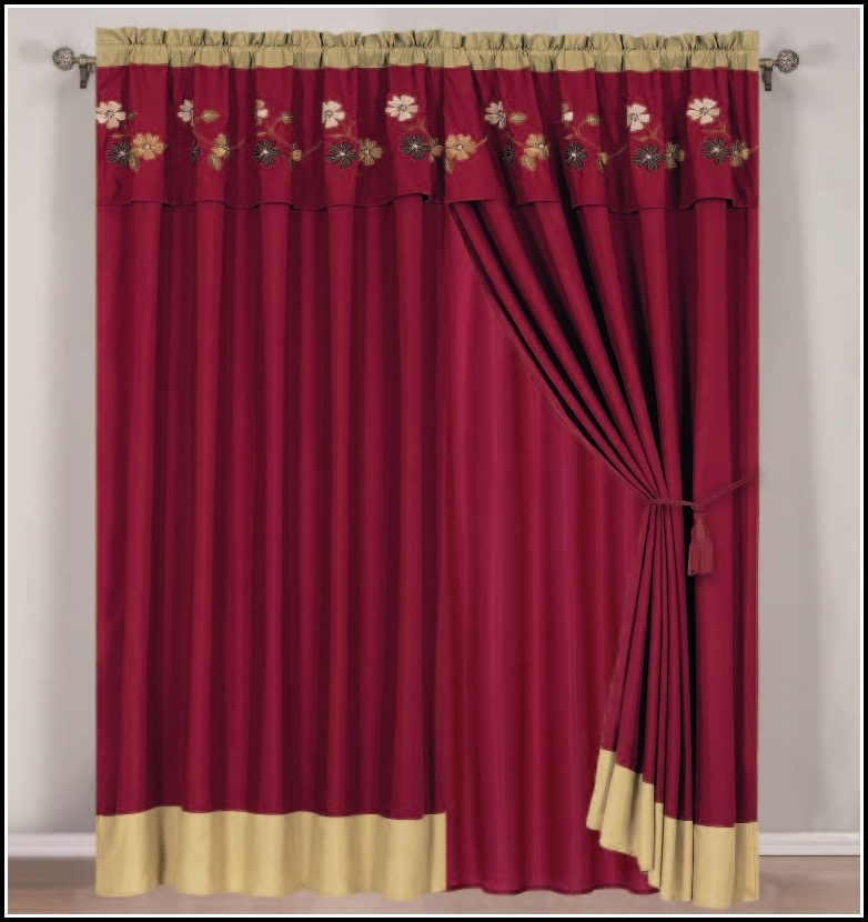 Curtain Rods For Scarf Valance