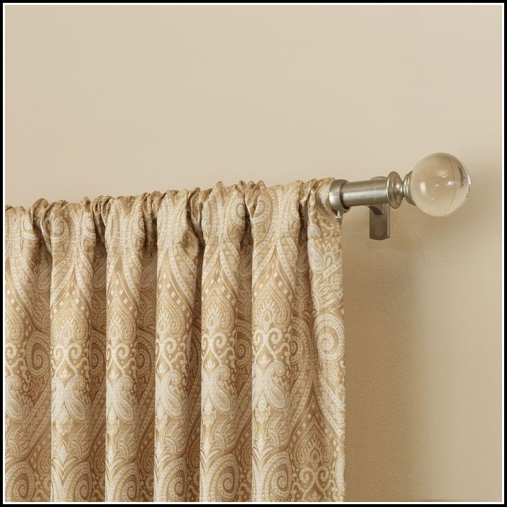 Curtain Rods For Valance And Panels