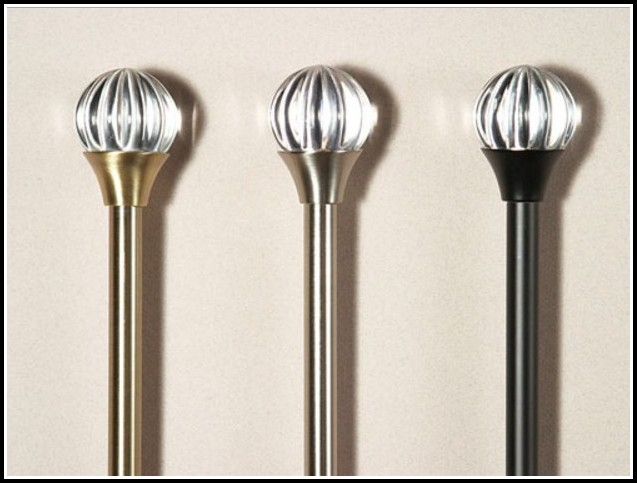 Curtain Rods With Decorative Finials