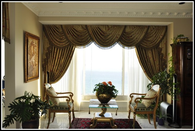 Curtains Large Living Room Window