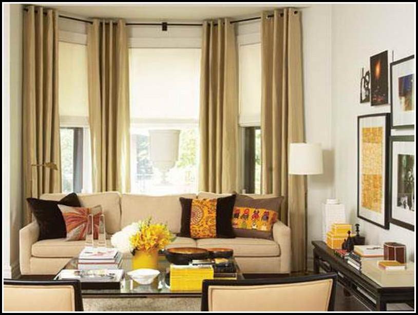 Curtains Living Room Bay Window