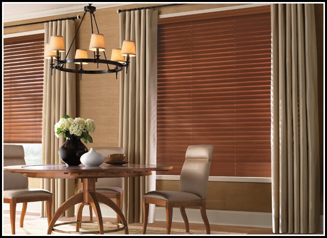 Do You Need Curtains With Wood Blinds