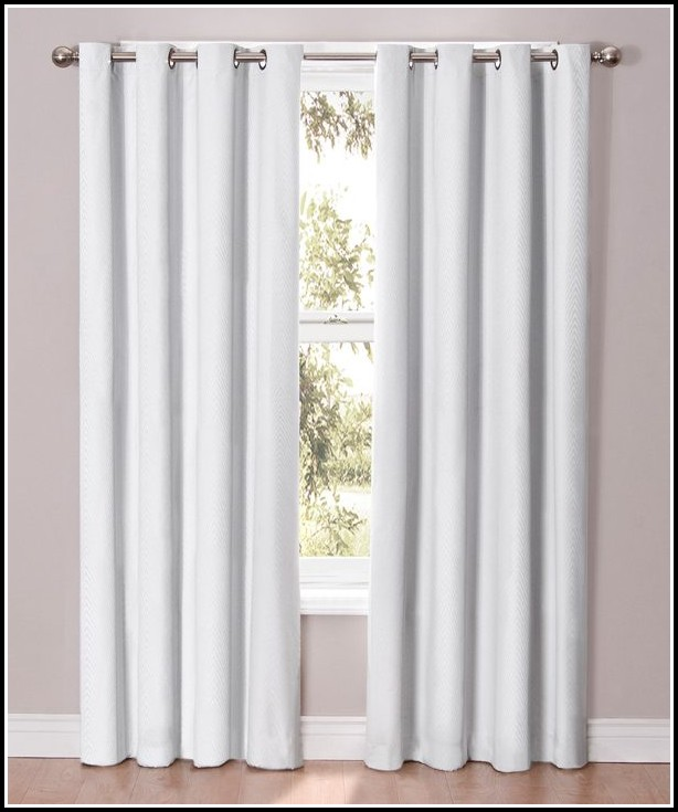 Eclipse Blackout Curtains In White