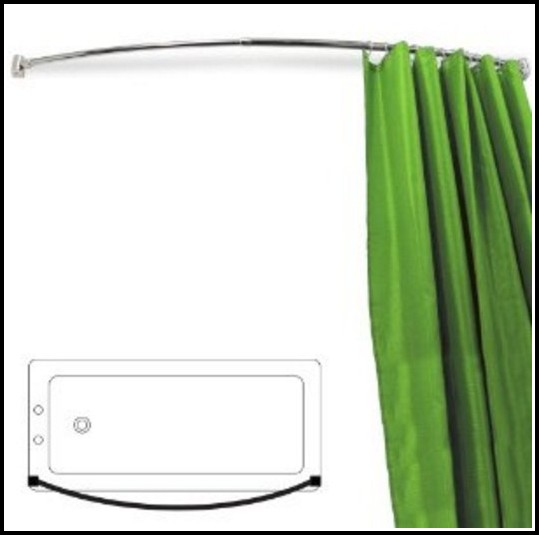 Flexible Curtain Track For Bay Windows Homebase