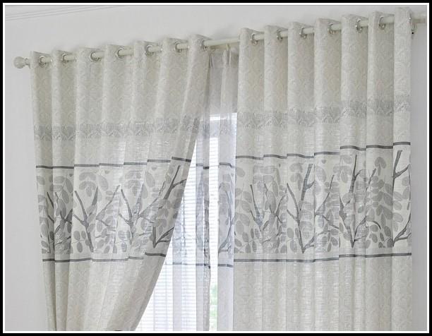 Grey Blackout Curtains Pencil Pleat