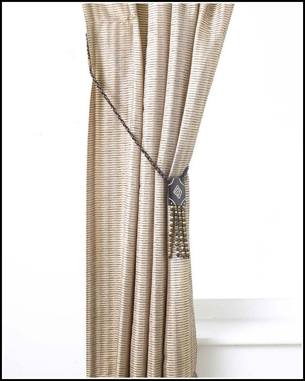 How To Use Curtain Tie Back Tassels
