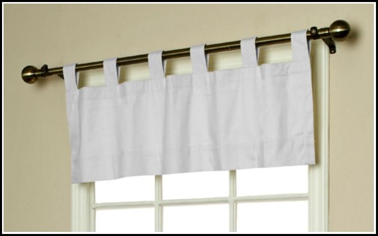 Ikea Tab Top Curtains White