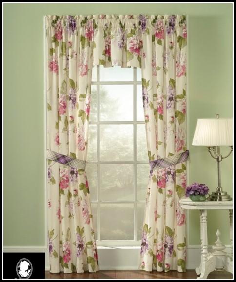 Martha Stewart Faux Silk Curtain Panels