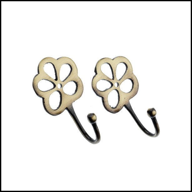 Polished Brass Curtain Tie Backs